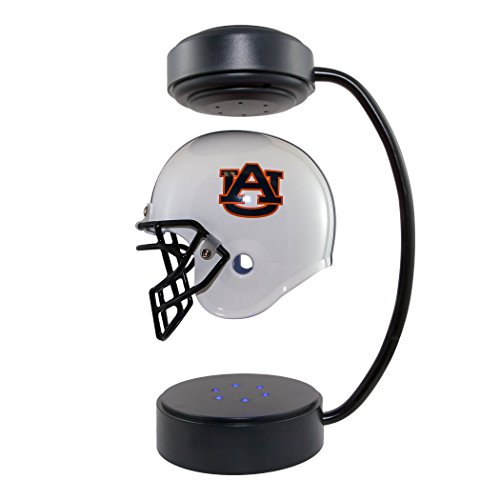 Tiger Helmet - Auburn Tigers NCAA Hover Helmet - Collectible Levitating Football Helmet with Electromagnetic Stand