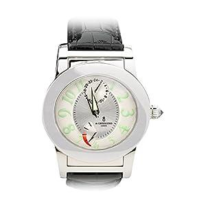 De Grisogono Instrumento Tondo Automatic GMT with Power Reserve. White Dial