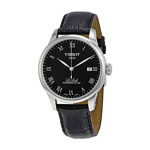 Tissot Le Locle Powermatic 80 Automatic Black Dial Mens Watch T0064071605300