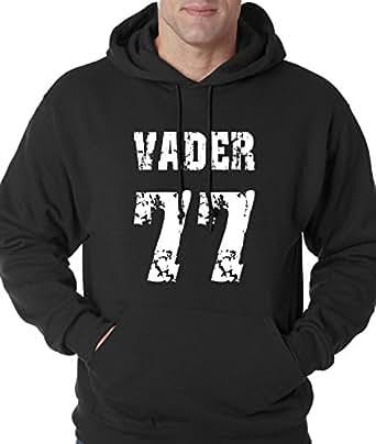 Hoodie Vader 77 Adult Small Black