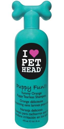 Pet Head Puppy Fun!! | Champú para cachorros que no produce irritación en los ojos con Naranja Deliciosa aroma