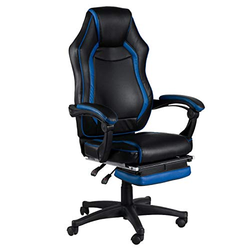 regalosMiguel - Sillas Gaming - Silla Nitro - Azul: Amazon.es: Hogar
