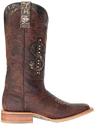 de Western Ta hojalata Boot para chapa Ty de mujer marrón Zapatos dqI4wgxYd