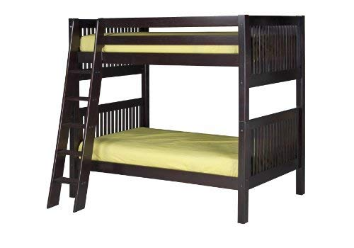Camaflexi Mission Style Solid Wood Bunk Bed