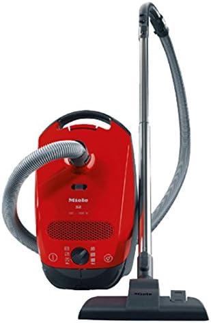 Miele S 2110 1600 W - Aspiradora (1600 W, Aspiradora cilíndrica, Secar, Bolsa para el polvo, 4,5 L, Rojo): Amazon.es: Hogar