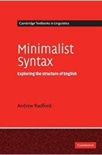 The sounds of language an introduction to phonetics learning about minimalist syntax exploring the structure of english cambridge textbooks in linguistics fandeluxe Choice Image