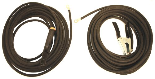Hobart 195195 No. 2 Stick Cable Set, 50-Foot (2 Welding 0 Lead)