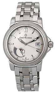 Carl F. Bucherer Patravi Automatic Steel Mens Watch Power Reserve Indicator Calendar 00.10616.08.13.21