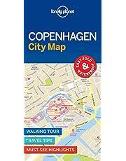 Lonely Planet Copenhagen City Map 1 1st Ed.