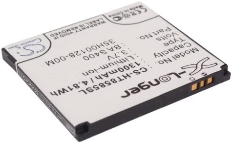 Leo 100 1300mAh Battery Replacement for HTC HD2 BB81100 Leo P//N 35H00128-00M T9193 BA S400 T8585