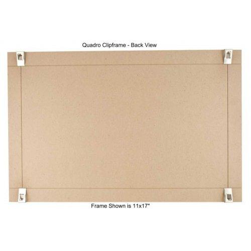 Quadro Clip Frame 12x18 inch Borderless Frame, Box of 2