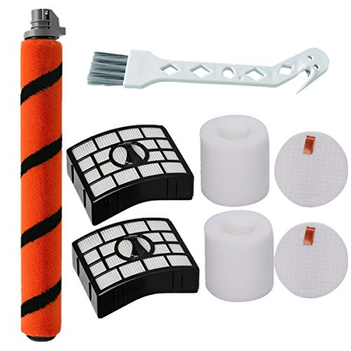 Bsnuo Brush Roll and 2 Filters Kit Replacement for Shark APEX DuoClean AZ1002 AZ1000W AX951 AX952 Vacuum Cleaner