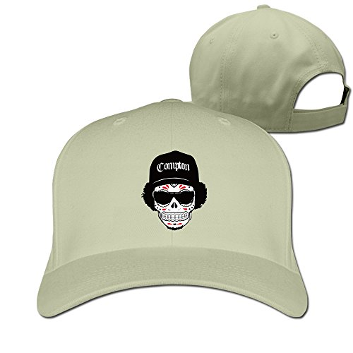 Unisex LunaCpt Skull Wearing Hats And Sunglasses Chapeau Natural One - Review Sunglasses For Golf