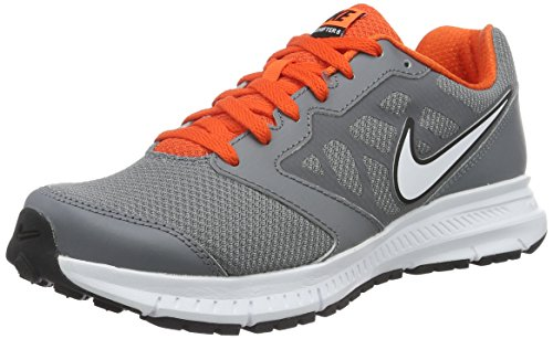 Nike Running Platinum Team White Shoe Downshifter 6 Orange Metallic Cool Grey q4OqTZR