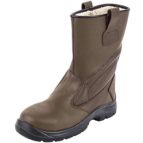 arcotek cswiboil37 botas de seguridad marrón barnizada, marrón, CSWIBOIL44: Amazon.es: Bricolaje y herramientas