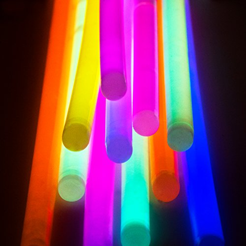 Glow Sticks Bulk Party Favors 400pk - 8'' Glow in the Dark Party Supplies, Light Sticks Neon Party Glow Necklaces and Bracelets for Kids or Adults by PartySticks (Image #4)