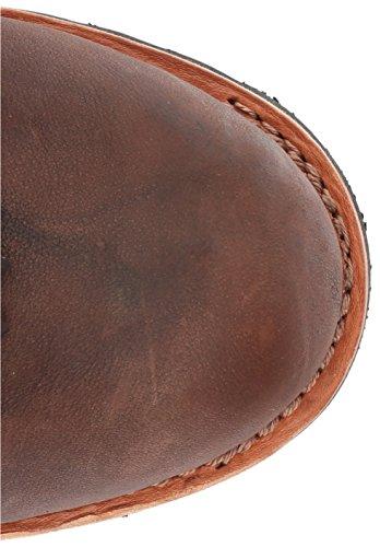 Scarpe Da Caccia Da Uomo Alce Tracker-861 In Pelle Marrone