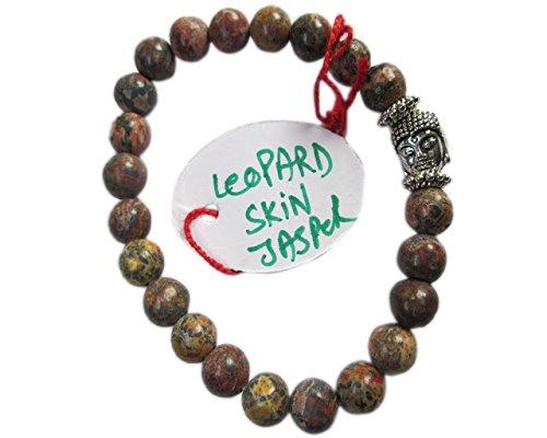 wholesalegemshop-leopard-skin-jasper-8-mm-bead-buddha-bracelet