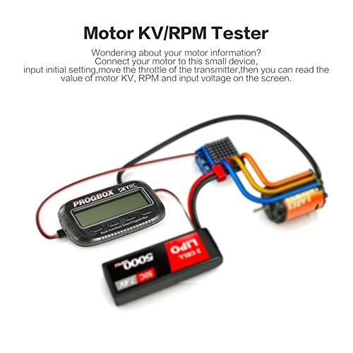 Wikiwand SKYRC SK-300046 PROGBOX ESC Program Box RC Motor Tester Lipo Battery Monitor by Wikiwand (Image #2)