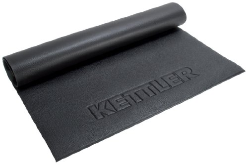 "Kettler Heavy-Duty Floor Protection Mat for Exercise/Fitness Equipment: Medium (55"" L x 32"" W x 1"" H)"
