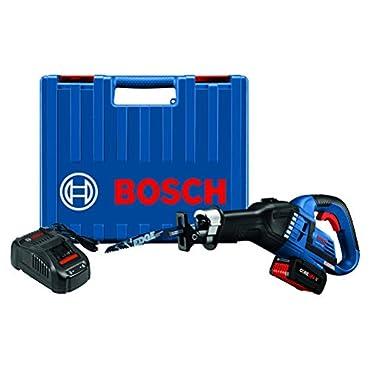 Bosch GSA18V-125K14 18V EC Brushless 1-1/4 In.-Stroke Multi-Grip Reciprocating Saw Kit