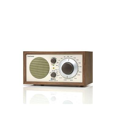 Tivoli Audio M1BTCLA Model One BT Bluetooth AM/FM Radio (Walnut/Beige)