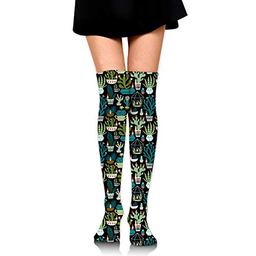 - Garden Gnome Female Ladies Women Girl Teen Kid Youth Leg Tall Mid Thigh High Knee Long Tube Over The Knee Stocking Costume Gifts Clothes Dresses Apparel Thy Thi Hi Attire