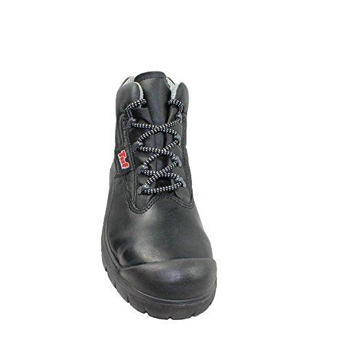 TuF UK S3 SRC Sicherheitsschuhe Arbeitsschuhe Trekkingschuhe hoch Schwarz Schwarz