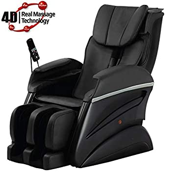 Super New Fujita Drs11 4D Full Body Massage Chair Recliner Black Creativecarmelina Interior Chair Design Creativecarmelinacom