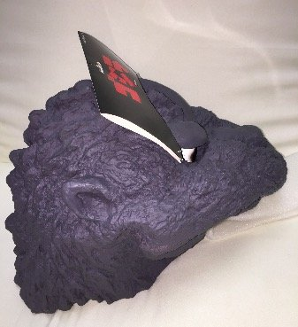 The first Godzilla Halloween, Godzilla mask by Godzilla