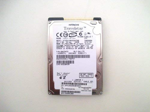 HITACHI - Hitachi 0A26673 60GB 5.4K 2.5 IDE Laptop Hard Drive - Brand New - HTS541060G9AT00