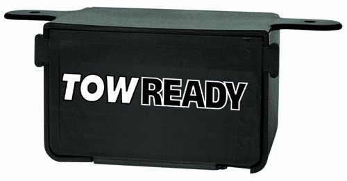 Tow Ready 118145 Plug Storage Box for 4-Flat Connector