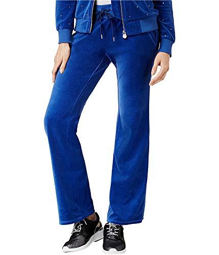 Michael Kors Velvet Drawstring Pants (Bright Royal, XXS) ()