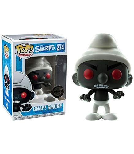 Pop! The Smurfs - Figura de Vinilo Gnap! Smurf, Black Exclusive