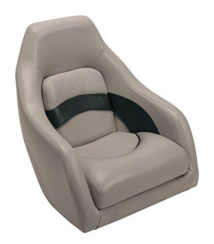 - Wise Premier Series Pontoon Captains Bucket Seat, Mocha Java/Mocha Java Punch/Evergreen/Rock Salt