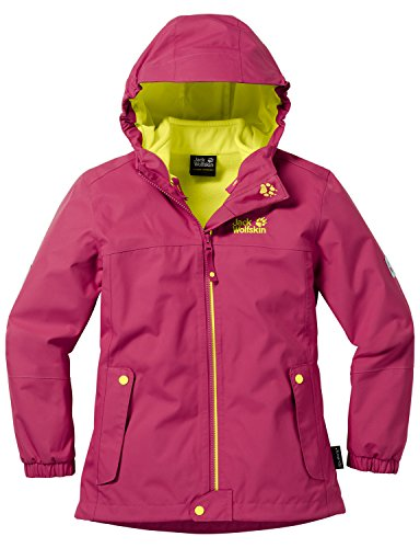 competitive price e0a4f a5082 Jack Wolfskin Mädchen Iceland 3in1 Girls 3-in-1 Jacke