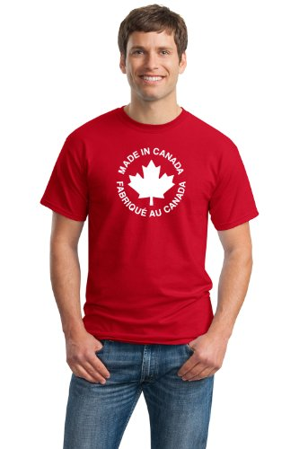 MADE IN CANADA, FABRIQUE AU CANADA Unisex T-shirt / Canadian Pride
