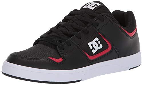 DC Men's Shoes Cure Skate, Black/red 11 M US