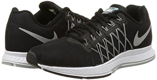 Gr 32 Wmns Pegasus Zoom Air blck cl Nike Mujer Pltnm Flash Para Rflct pr Negro Zapatillas De Slvr Running xIUdqww