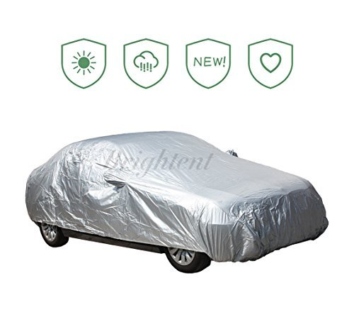 Brightent-Car covers Seden Outdoor Indoor Predect Water Sun Proof Universal (Fit Sedan Length 186 -205  XCS3S)