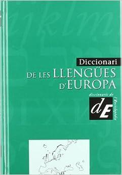 Libros Para Descargar En Diccionari De Les Llengües D'europa Formato PDF