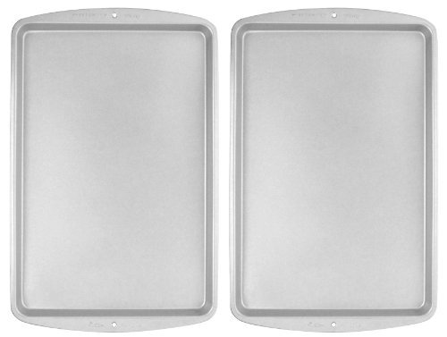 Wilton Recipe Right Medium Cookie Pan 15 1/4 X 10 1/4 Inch Pack of 2 Pans