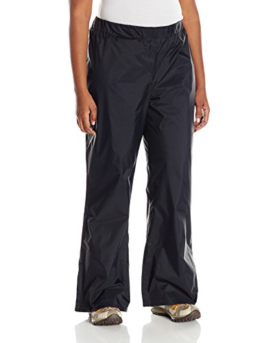 Columbia Plus Size Women's Storm Surge Waterproof Rain Pant, Black, 3X Regular ()