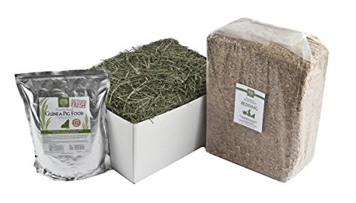Small Pet Select Deluxe Combo Pack: Timothy Hay (20 lb.),...