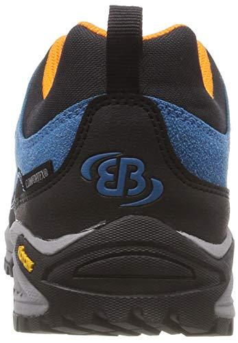 Senderismo blau De Bruetting Rise schwarz Adulto orange orange Unisex Low Azul schwarz Kansas Blau Zapatos XfZFT