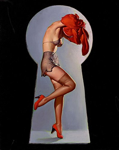 Berkin Arts Gil Elvgren Giclee Canvas Print Paintings Poster Reproduction(Pin up Girls 4) -
