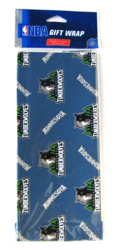 NBA Minnesota Timberwolves Wrapping Paper for $<!--$7.30-->