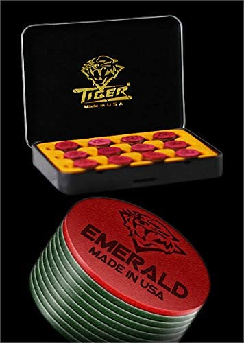 w//FREE SHIP 2 tips Tiger Emerald Tips Cue Components Making Repair Supplies