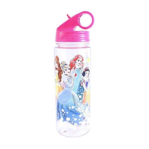 (Silver Buffalo DN9864 Disney Princess Floral Group Tritan Water Bottle, 20-Ounces)