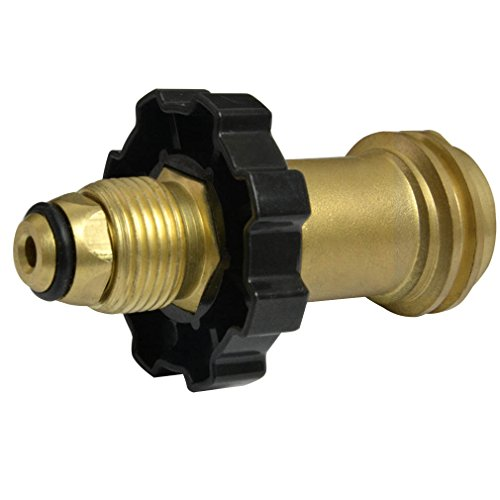 Propane Adapter Fittings - Onlyfire Universal Fit Propane Tank Adapters POL to QCC1 Wrench to Hand Tighten Old to New Style